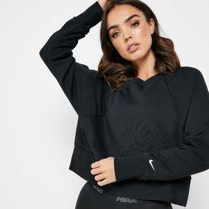 Nike Sportswear NSW Black Women's Sweatshirt Crop